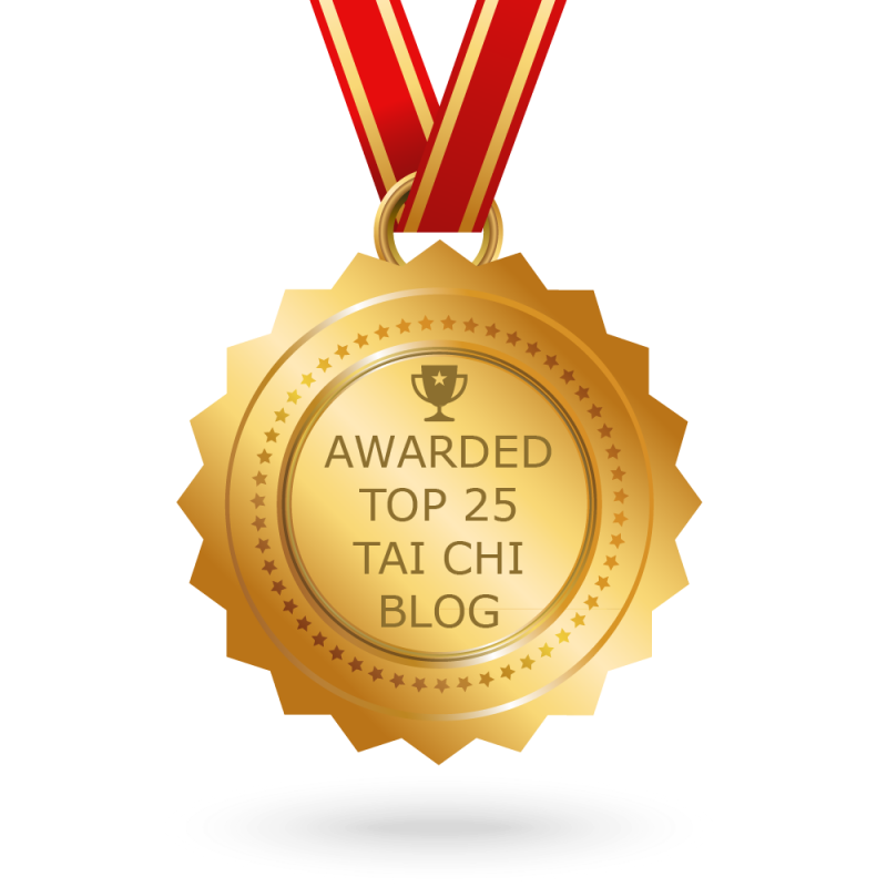 Award for Top 25 Tai Chi Blogs to watch in 2018